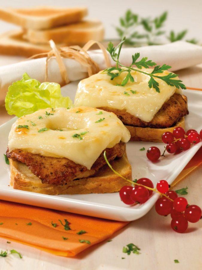 Amerikai sajtos-gyümölcsös pulykamell toaston