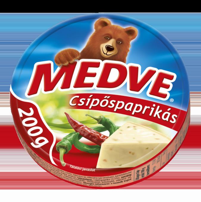 Medve Sajt Csípőspaprikás