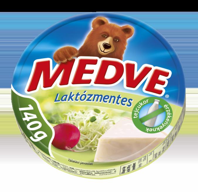 Medve Sajt Laktózmentes