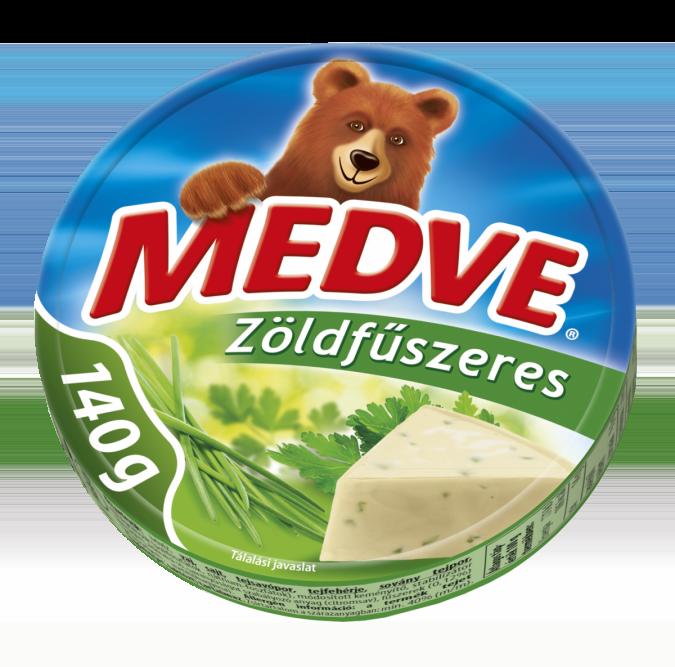 Medve Sajt Zöldfűszeres