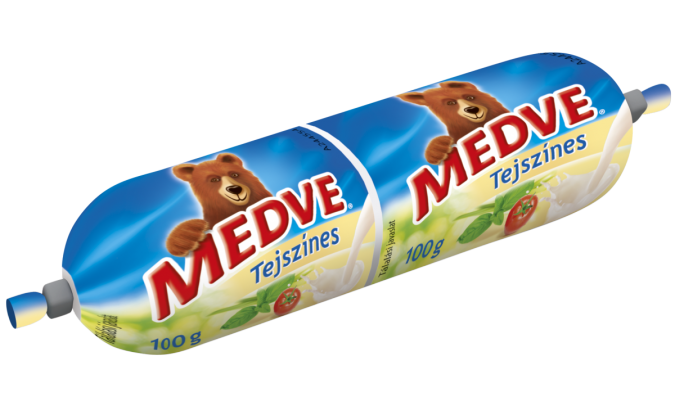 Medve Tömlős Sajt Tejszínes