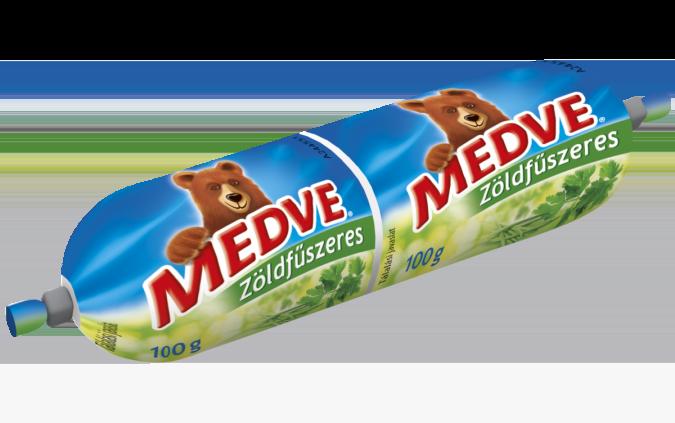 Medve Tömlős Sajt Zöldfűszeres