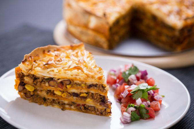 Mexikói rakott tortilla
