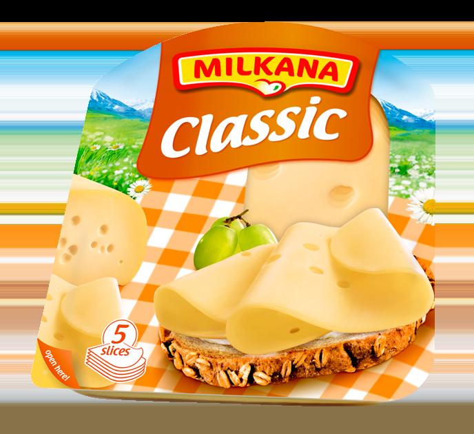 Milkana Classic Szeletelt Sajt