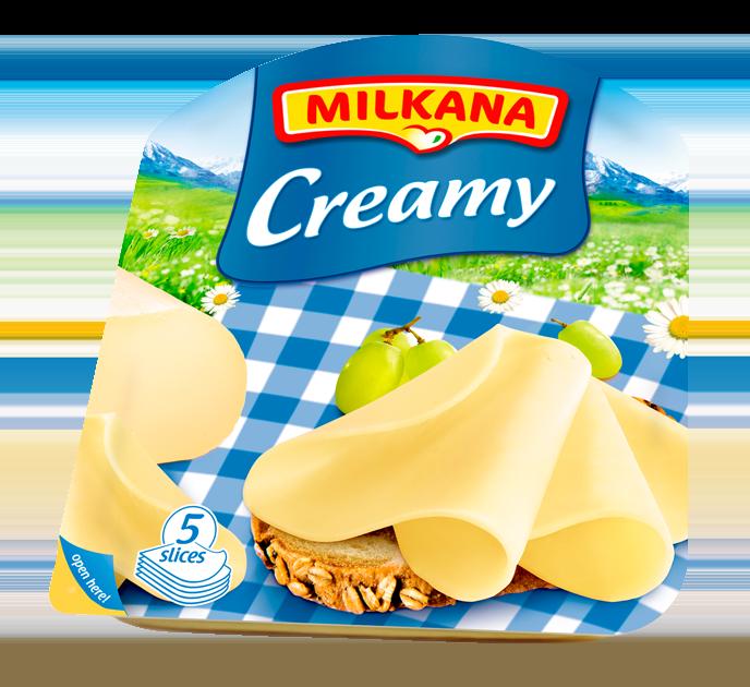 Milkana Creamy Szeletelt Sajt