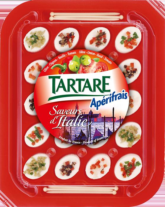 Tartare Apérifrais Italiano