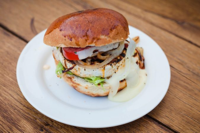 Tihany Grill Camembert Burger