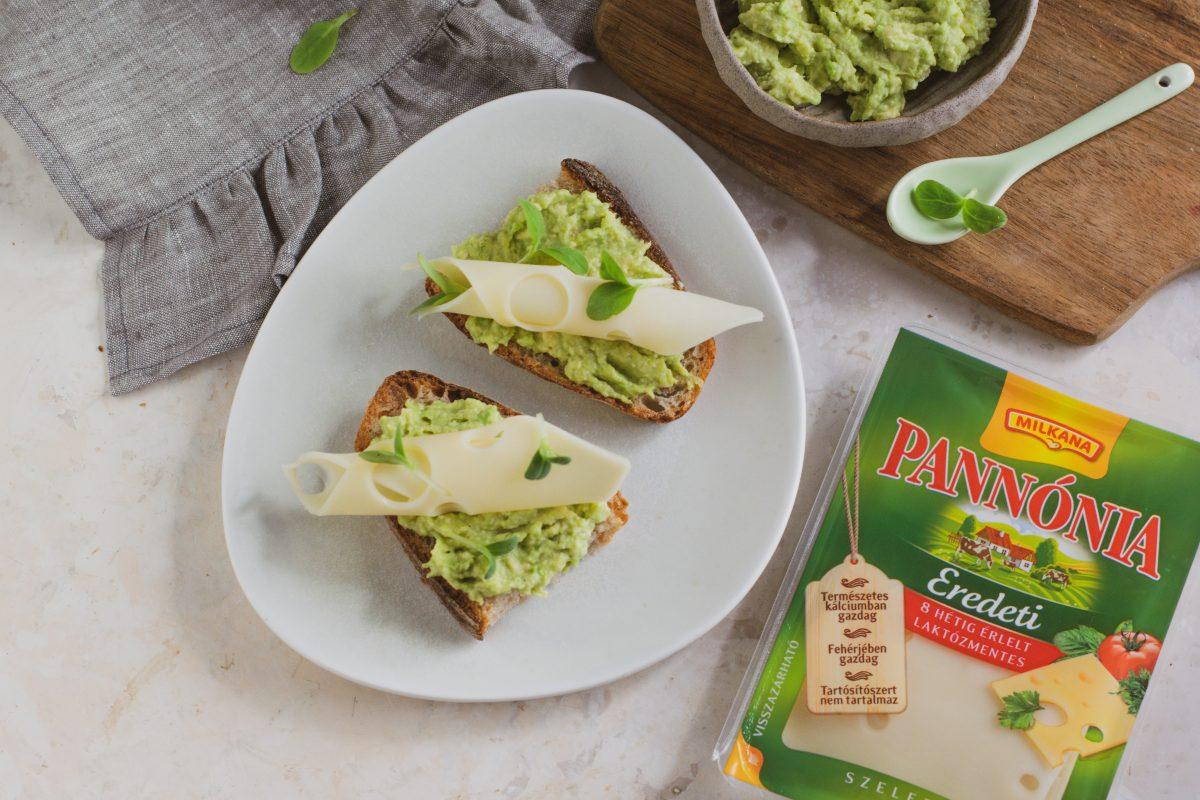 Avokádókrémes szendvics