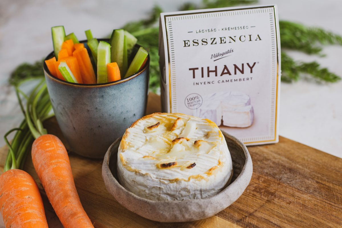 Tihany Esszencia fondue zöldséghasábokkal